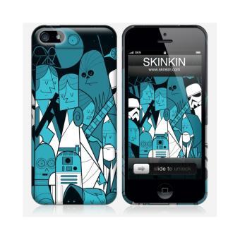 coque iphone 5 et 5s de chez skinkin design original star wars par ale giorgini achat. Black Bedroom Furniture Sets. Home Design Ideas