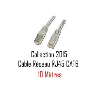 cabling 10m c ble cat6 vitesse 1giga collection 2015 au prix du c ble cat5 vitesse 100 meg. Black Bedroom Furniture Sets. Home Design Ideas