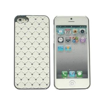 coque iphone 5 5s strass capitonnage blanc achat prix fnac. Black Bedroom Furniture Sets. Home Design Ideas
