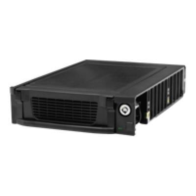 Rack amovible économique pour disque dur Serial ATA. Ce rack permet d´utiliser pleinement la fonctionnalité ´Hot Swap´ de l´interface SATA, permettant de retirer ou de reconnecter un disque dur.sans éteindre l´ordinateur.Idéal pour les solutions de sauveg