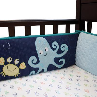 Pare-chocs tour de lit luxe pour enfants, 54.6 x 28.6 x 20.3 cm -PEGANE- pour 180€