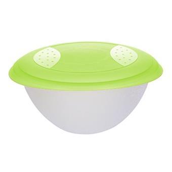 Okt 2053841 Saladier Avec Couvercle Plastique Vert Transparent 6 L 10660278000 Achat Prix Fnac