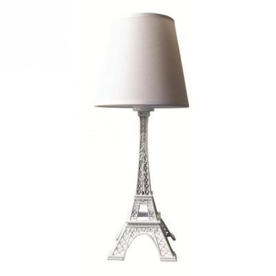 Image du produit Lampe tour eiffel blanche hauteur 38 cm