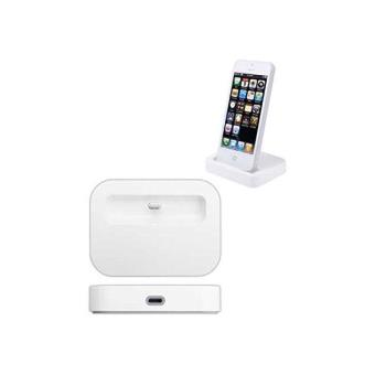 dock de charge blanc iphone 5 5s achat prix fnac. Black Bedroom Furniture Sets. Home Design Ideas