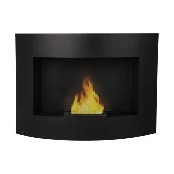 chemin e bio thanol murale mynti noir achat prix fnac. Black Bedroom Furniture Sets. Home Design Ideas