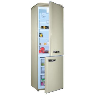 Couleur : Crème Dimensions H x L x P (cm) : 192 x 59.9 x 62.8 Classe énergétique : A + Volume net réfrigérateur (L) : 216 Volume net congélateur (L) : 84