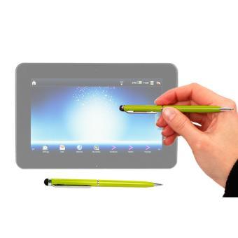 stylet tactile vert 2 en 1 stylo pour cran de tablette. Black Bedroom Furniture Sets. Home Design Ideas