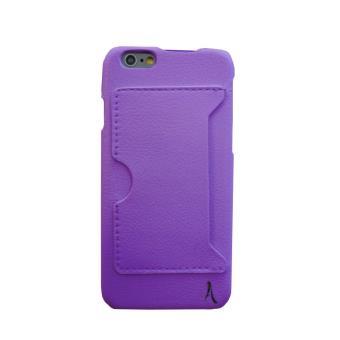 Coque apple iphone 6 porte carte akashi violette achat - Coque porte carte iphone se ...