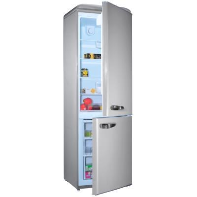 Couleur : Silver Dimensions H x L x P (cm) : 192 x 59.9 x 62.8 Classe énergétique : A + Volume net réfrigérateur (L) : 216 Volume net congélateur (L) : 84