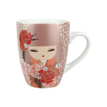 tasse kimmidoll poup e japonaise rose pale yumiko achat. Black Bedroom Furniture Sets. Home Design Ideas