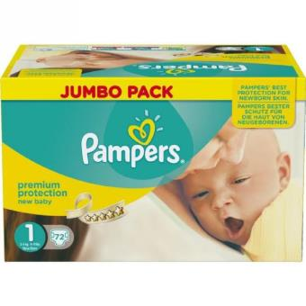 pampers new baby taille 1 nouveau n 2 a 5 kg co achat. Black Bedroom Furniture Sets. Home Design Ideas