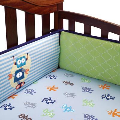Tour de lit Robbie luxe pour enfants (4 pièces), 30.5 x 30.5 x 20.3 cm -PEGANE- pour 180€