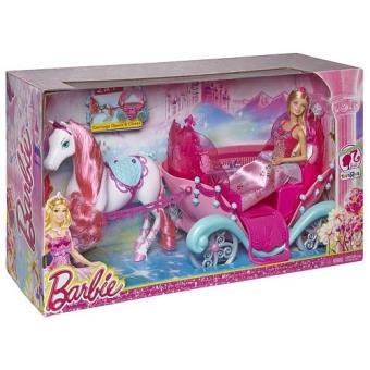 Barbie carrosse conte de f es mattel achat prix fnac - Carrosse barbie ...