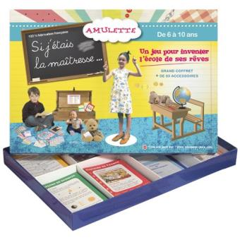 jeu ducatif amulette le grand jeu si j 39 tais la ma tresse achat prix fnac. Black Bedroom Furniture Sets. Home Design Ideas