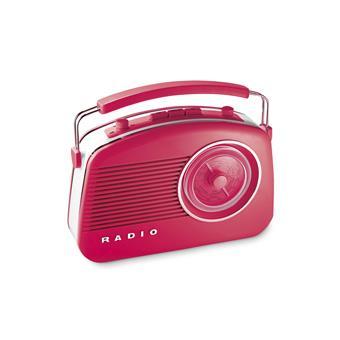 radio dolce rouge achat prix fnac. Black Bedroom Furniture Sets. Home Design Ideas