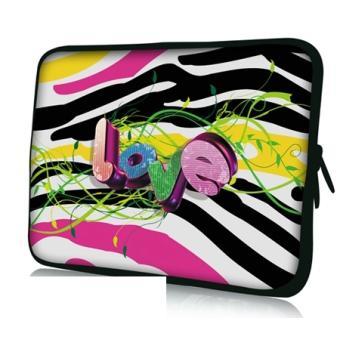Housse ordinateur portable 17 pouces zebra love achat for Housse 17 pouces