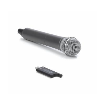 Numéro de la pièce dorigine SWXPD1HQ6 Nom du produit Samson Stage XPD1 USB Système numérique sans fil avec microphone à main (2,4GHz) Producteur Samson Technologies Classe de Produit Microphone Type de micro la transmission sans fil Dynamique HiFi mono Ty
