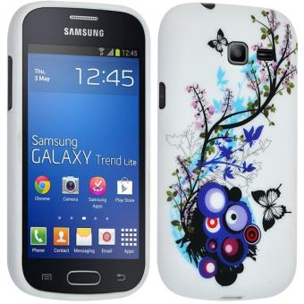mp Etui Semi Rigide avec Motif HF pour Samsung Galaxy Trend Lite S w