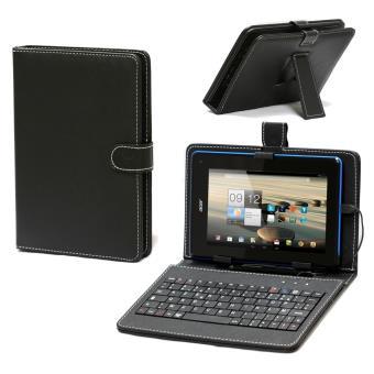 navitech housse 233 tui avec clavier fran 231 ais azerty int 233 gral pour tablettes android 224 7 pouces