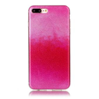 coque tpu pour iphone 7 plus 5 5 rose rouge achat prix fnac. Black Bedroom Furniture Sets. Home Design Ideas