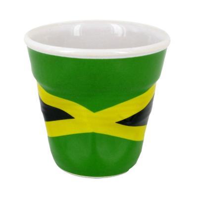 Image du produit Tasse froissée expresso drapeau Jamaïque Revol 8 cl