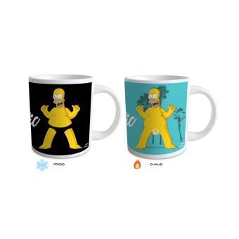 mug magique homer simpson change de motifs avec la temp rature tasse magique achat prix. Black Bedroom Furniture Sets. Home Design Ideas