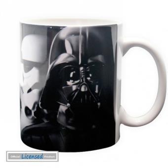 mp Star Wars Tasse A Cafe Mug Dark Vador Et Stormtrooper x cm