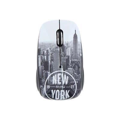 Grace à sa forme confortable et à son design unique, la souris T´nB deviendra un accessoire indispensable à votre bureau! Dispose d´un bouton onoff pour économiser et optimiser la durée d´utilisation! Avec les surfaces en Rubber sur les cotés, l´utilisati