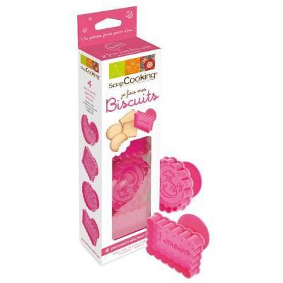 Image du produit ScrapCooking® - Emporte-pièces - Kit Je fais mes biscuits