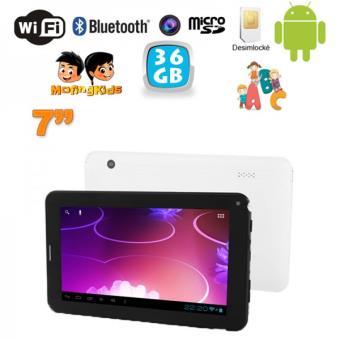 tablette enfant ducative et t l phone android 7 pouces wifi 36 go achat prix fnac. Black Bedroom Furniture Sets. Home Design Ideas