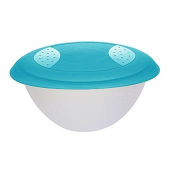 Okt 2053843 Saladier Avec Couvercle Plastique Bleu Transparent 6 L 10660632000 Achat Prix Fnac