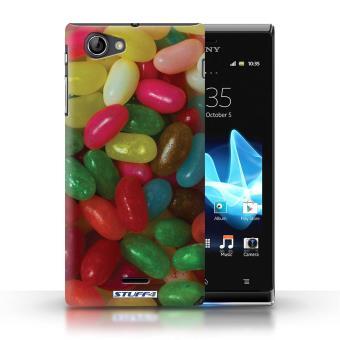 Coque de Stuff4 / Coque pour Sony Xperia J (ST26i) / Jelly ...