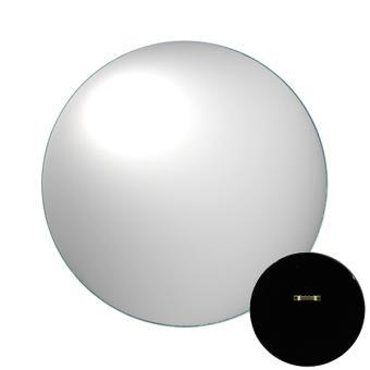 Miroir bomb rond 25cm verre achat prix fnac for Miroir bombe rond