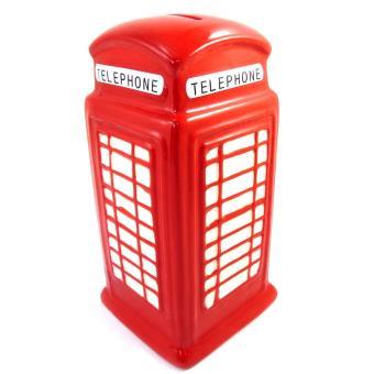tirelire cr ateur 39 so british 39 rouge cabine t l phonique achat prix fnac. Black Bedroom Furniture Sets. Home Design Ideas