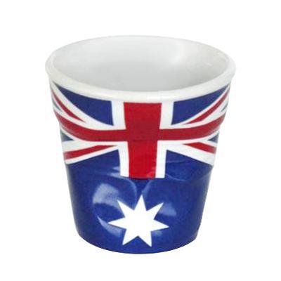Image du produit Tasse froissée expresso drapeau Australien Revol 8 cl