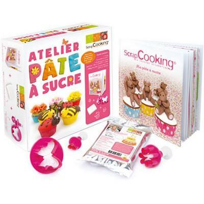 Image du produit ScrapCooking® - Emporte-pièces - Kit Atelier Pâte à sucre