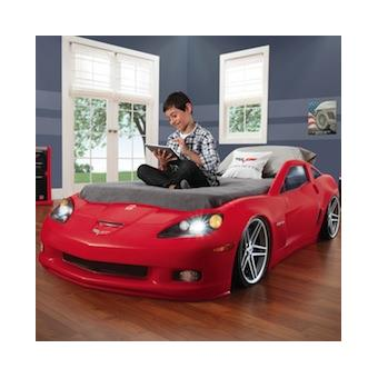 lit voiture corvette chevrolet achat prix fnac. Black Bedroom Furniture Sets. Home Design Ideas