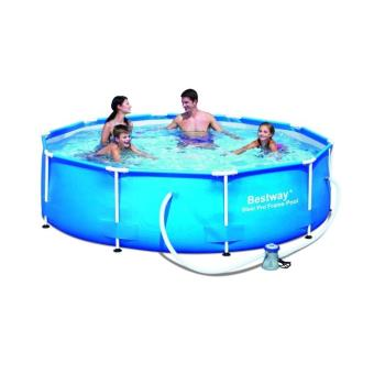 Piscine ronde d 305 h 76cm bestway 56408 04 achat prix for Cash piscine 71