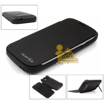 coque flip batterie samsung galaxy s3 noir achat prix. Black Bedroom Furniture Sets. Home Design Ideas