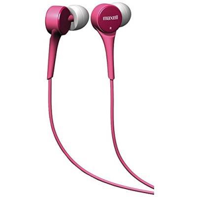 Description du produit Maxell 303596 Couplage auriculaire Intraaural Style de casque portable écouteur Puissance dentrée maximale 5 mW Connectivité Avec fil Interface de lappareil 3.5 mm (1 8) Longueur de câble 1,2m Couleur Rose Type demballage Ampoule