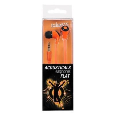 Type de Produit Casque audio Couleur Orange Caractéristiques supplémentaires Fiche plaquée or, cordon souple Poids 12.7 g