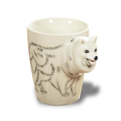 Image du produit Tasse tete de loup 3D mug animal