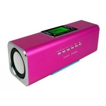 enceinte lecteur mp3 lcd reveil usb et micro sd achat prix fnac. Black Bedroom Furniture Sets. Home Design Ideas
