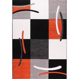 Jazz tapis de salon orange 80x150 cm achat prix fnac for Tapis orange salon