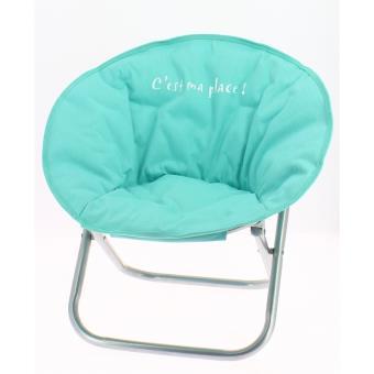 fauteuil pour enfant pliable bleu pastel si ge pour enfant achat prix fnac. Black Bedroom Furniture Sets. Home Design Ideas