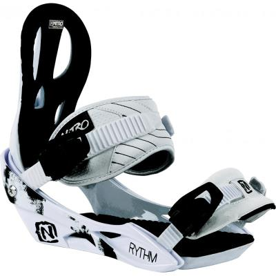 Rythm White Nitro Snowboard ( Fixation Femme) pour 134€