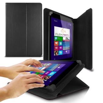 techjet housse tablette universel 7 pouces noir achat. Black Bedroom Furniture Sets. Home Design Ideas