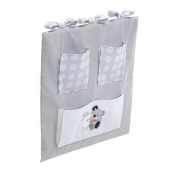 interbaby 91208 vide poches pour lit b b gris achat prix fnac. Black Bedroom Furniture Sets. Home Design Ideas