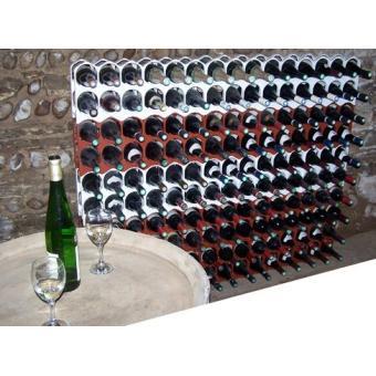 Casier bouteille range bouteilles empilable et d co couleur brique achat a - Range bouteille en brique ...