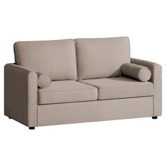 canap 2 places havane marius 153x80x80 cm achat prix fnac. Black Bedroom Furniture Sets. Home Design Ideas